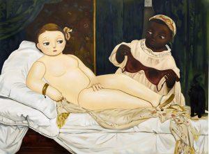 Homage to Edouard Manet's Olympia