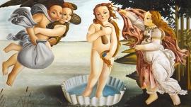 Homage to Sandro Botticelli's The Birth of Venus